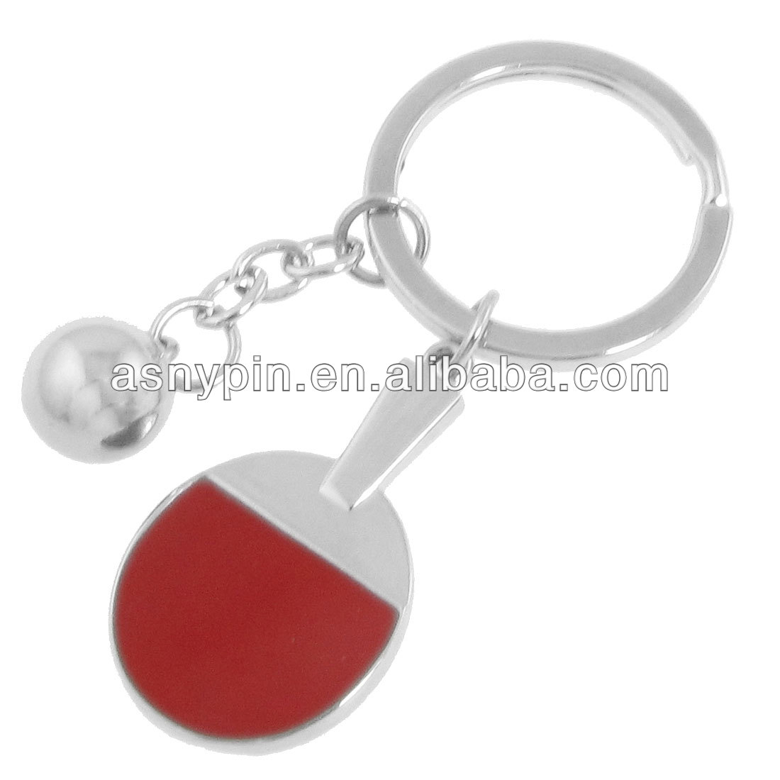 2014 New products 3D Keychain Sports table tennis ping pong racket