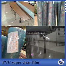 very popular super clear PVC film in roll
