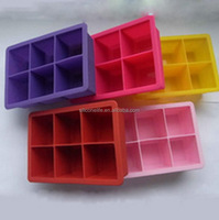 Super quality best sell teeth shape silicone ice cube trays