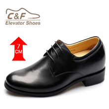 High class height increasing cow leather middle east dress leader shoes/ delhi footwear