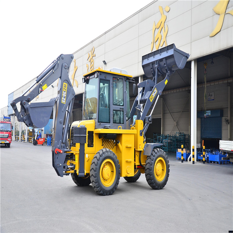 2017 new mini articulated WZ30-25 backhoe loader for sale
