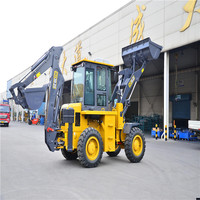 2017 new mini articulated WZ30-25 backhoe loader for sale