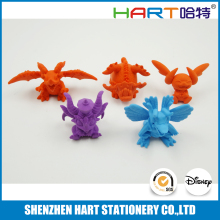 Japanese import goods, 3D cartoon eraser, rubber eraser toy