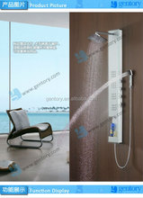 shower set Tempered Glass bathroom faucet- concealed thermostatic faucet shower panel G083