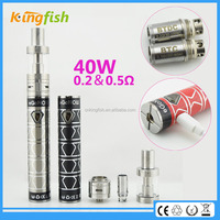 2015 hot product ego now arctic 0.2 and 0.5ohm dx 80 box mod for china wholesale