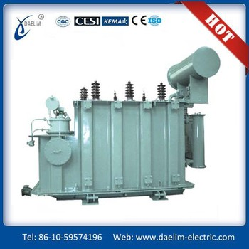 Three phase 6kv 63kva Oil immersed Distribution Transformer