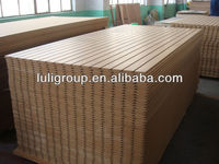18mm slot mdf/wall panel/plywood groove board