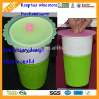 Transparent Party Helper Multi-fuction As Seen On TV Flower Shape Silicone Suction Lids