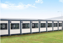 Flat pack waterproof and fireproof container house modular office