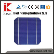 156*156 mm High efficiency cheap mono solar cell with Taiwan brand