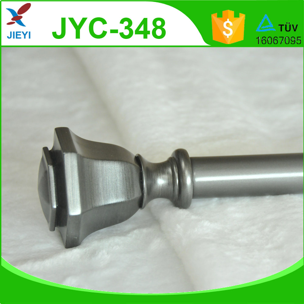 Wholesale cheap price high quality factory metal finish curtain rod