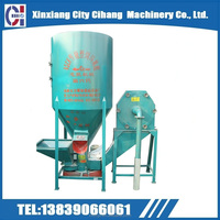 9HT-750 1500 high efficiency Unitized animal feed crusher and mixer /used widely for the poultry farming equipment