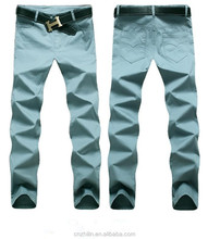 Stock lot new model OEM fashionable men pants wholesale casual trousers for men
