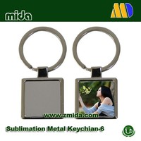 Sublimation key ring
