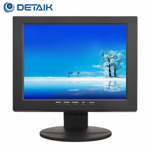 Detaik 10.4 inch Square Led Computer Monitor 10 inch Tft Lcd Car Tv Monitor