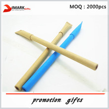 eco friendly and high quality Recycled kraft paper roll pen