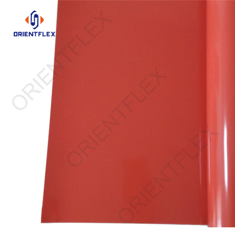 OEM durable heat proof black silicone rubber sheet factory