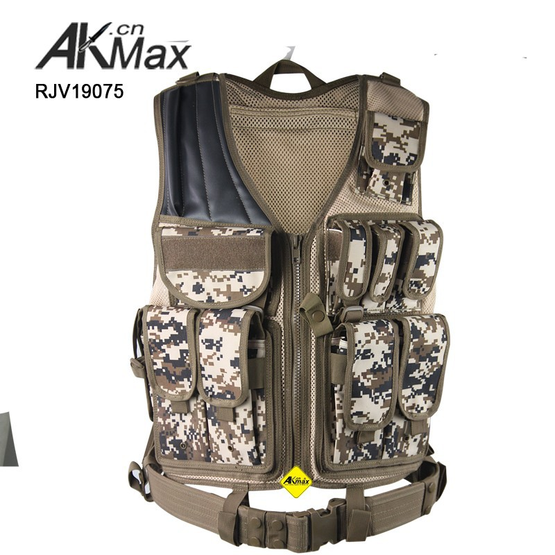 Digital Camo Tactical Vest Akmax Vest Made By FashionOutdoor