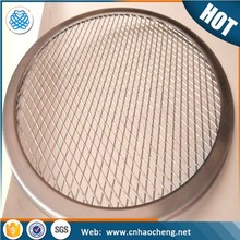 Winware seamless stainless steel 12 inch round pizza screen tray