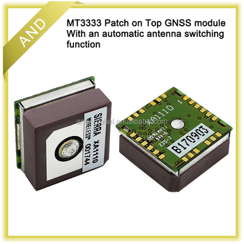 AirPrime XA1110 GPS and GLONASS Patch Module,MT3333 receiver,embedded patch antenna glonass module
