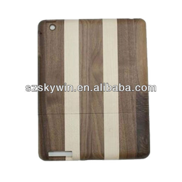 Good quality wooden cover Case for the ipad mini