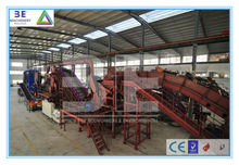High Yield of 3E's Scrap metal recycling line/Metal recycling machine/Scrap metal crushing machine, for sale