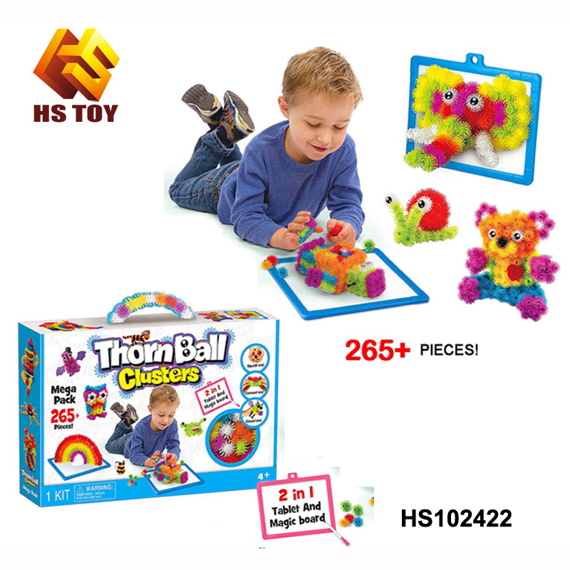 Educational toys for kids building blocks toy mega pack diy kit Thorn Ball Clusters