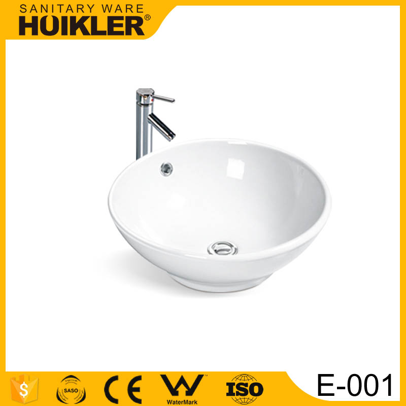 E-001 Italian classic bathroom wash basin designs for dining room