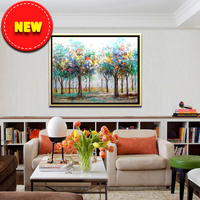 free download abstract art tree picture tuscany landscape oil painting