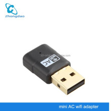 Newest Dual USB 600Mbps Wireless Wi Fi 2.4G+5GHz Dual Band AC Wifi Antenna 802.11a/b/g/n Adapter Wi-Fi Network Card