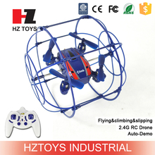 Sky&climbing toy 2.4G remote control 4CH wall climbing drone.