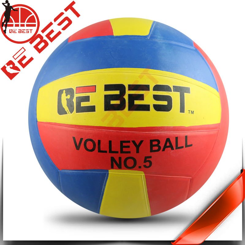 Size 5 volleyball hungriness more than two colors volleyball factory china stock rubber volleyball