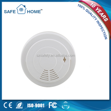 en14604 certified 10 years lithium battery operated photoelectric free-standing types of smoke detector