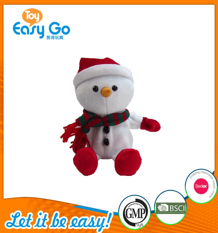 2017Special Popular Snowman Doll Toy for Christmas Day Gifts/Family Party Decoration