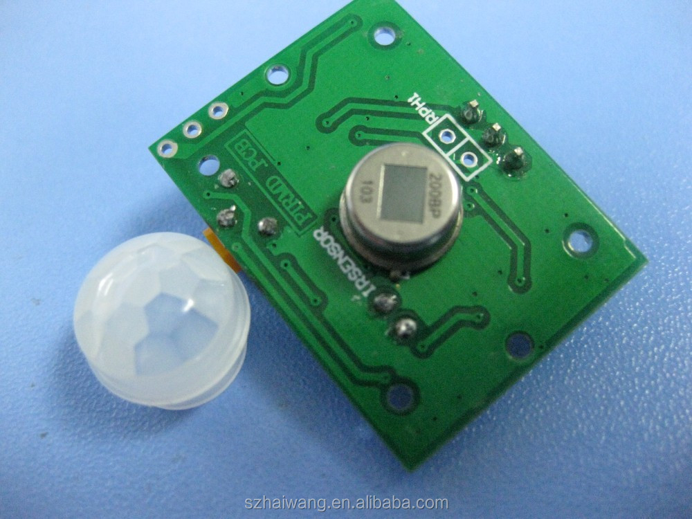 HW8002 infrared receiver module/pir motion sensor module for long distance