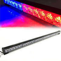 6*6LED car warning lamp 36LED Waterproof Surface Mount Deck Dash Grille Strobe Light Warning Police Light with Cigarette Lighter