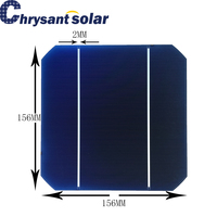 20% High Efficiency 6-inch 156*156 mm Photovoltaic Monocrystalline Solar Cell For Sale
