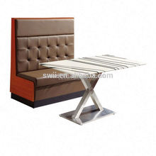 modern fabric corner sofa Hot Sales Restaurant Booth Sofa