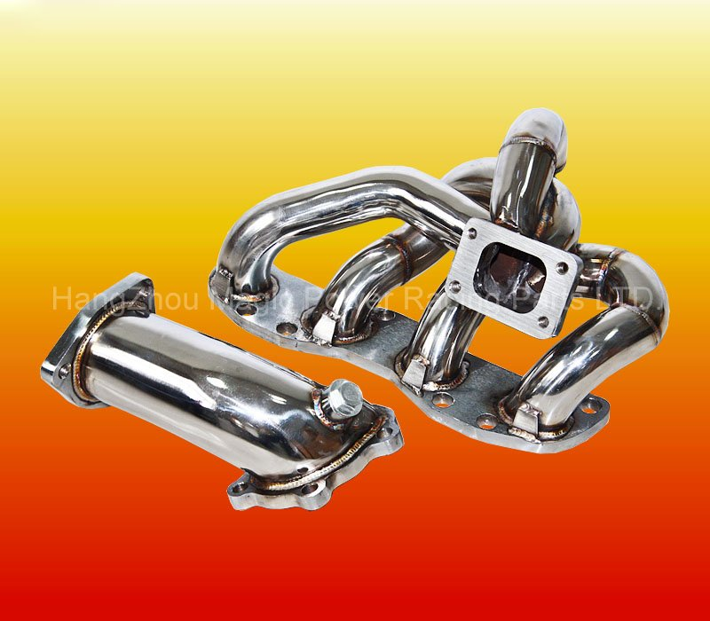 Stainless Steel Car Turbo Exhaust Manifold for N issan 200SX S13 CA18DET
