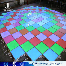 IP65 P10 Outdoor display function full color led video interactive dance floor for club and stage led dance