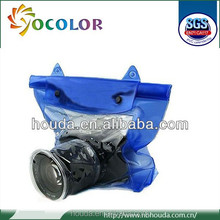 New design pvc waterproof camera case for diving swimming floating