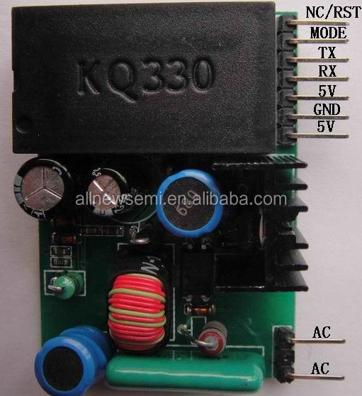 KQ-130F power line carrier module, without any external components grid distance 46y