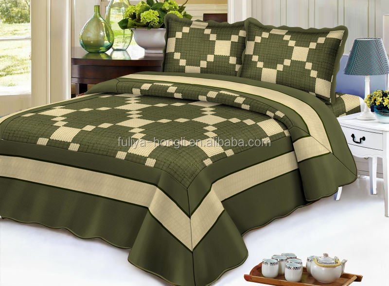Professional company pretty design patchwork home kingsize bedspreads