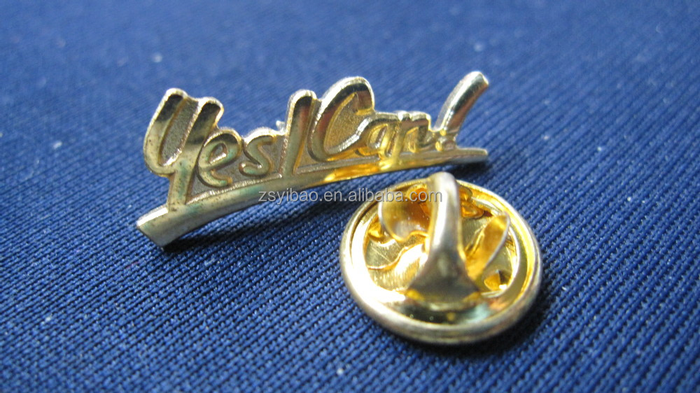 Factory new products epoxy enamel pin badge with nickel plated