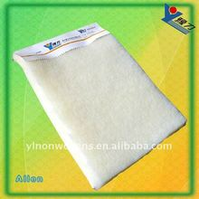 High temperature wool interlining for garment