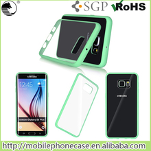 Wholesales 360 Degree Full Protective Slim Acrylic TPU Back Case for Samsung S6 edge plus