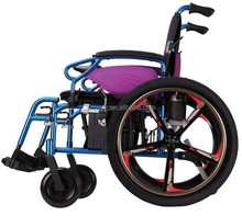 Fashionable lightweight lithium battery power wheelchair only 28kg