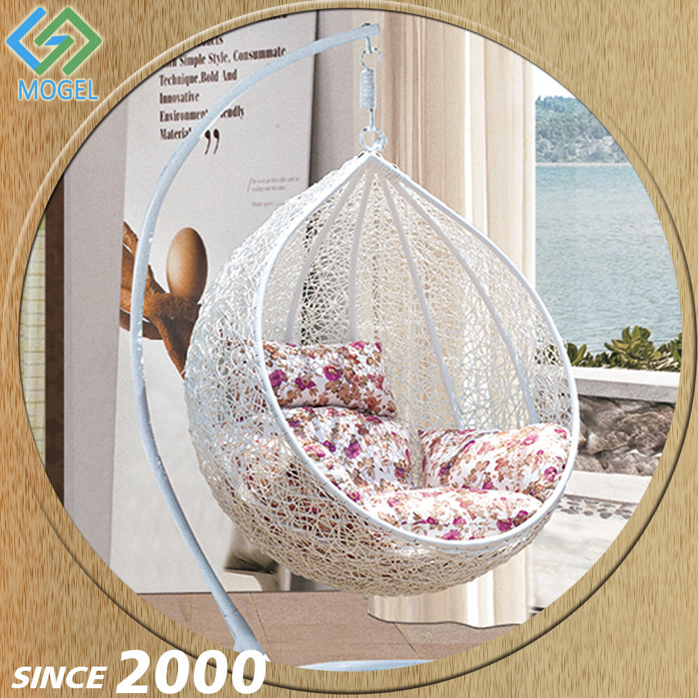 Modern Rattan Wicker Indoor Hanging Egg Swing Chairs