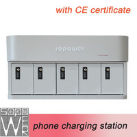 2015 new arrival phone charging smart locker locker with CE certificate usb charging block