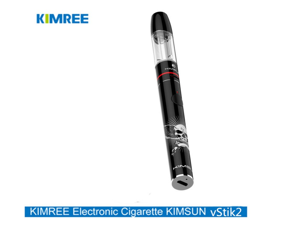 Newest design / KIMREE/Kimsun vStik2 Straight-to-lung E-cigarette with 2ml Disposable cartridge which Conforms to TPD Standard